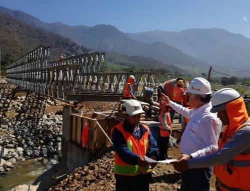 Reconstrucción con Cambios: en estos distritos se colocarán 86 puentes modulares